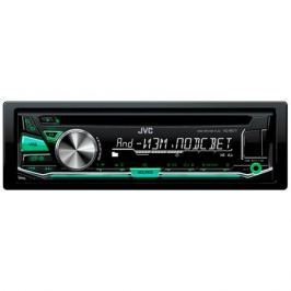Автомагнитола JVC KD-R577 USB MP3 CD FM 1DIN 4x50Вт черный