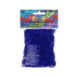 Резинки для плетения Rainbow Loom Тёмно-синий 22130 600 шт
