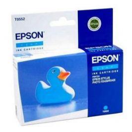 Картридж Epson Original T055240 голубой для МФУ Epson Stylus RX520/Stylus Photo R240