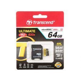 MicroSDXC Transcend 64Gb Class10 (TS64GUSDU3)