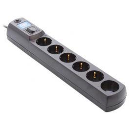 Сетевой фильтр MOST Hard HV6 6 розеток 2 м черный