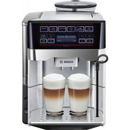 Кофемашина Bosch TES60729RW 1500 Вт черный серебристый