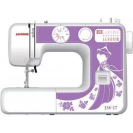 Швейная машина Janome LW-17 белый фиолетовый