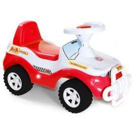 Каталка-машинка R-Toys Джипик пластик от 8 месяцев с клаксоном красная ОР105к