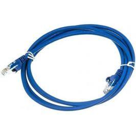 Патч-корд UTP 5E категории 1м синий CU PVC IRBIS IRB-U5E-1-BL медь 24AWG