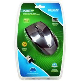 Мышь Defender Pulsar 655 Nano G USB Grey 5кн, 2.4G, оптика, 800/1200/1600 dpi.