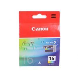 Картридж Canon BCI-16 Color для PIXMA iP90, SELPHY DS700 и DS810. Двойная упаковка. Трехцветный. 199 страниц.