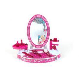 Игровой набор Klein Студия красоты настольная Barbie 8 предметов 5378