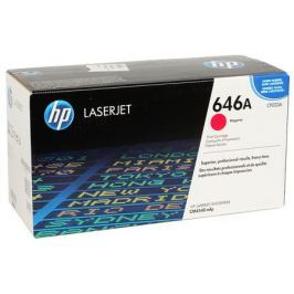Картридж HP CF033A для LaserJet CM4540 MFP, Пурпурный. 12 500 страниц.