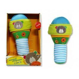Плюшевая интерактивная игрушка - микрофон