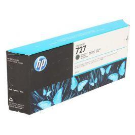 Картридж HP C1Q12A №727 для Designjet T920, T930, T1500, T1530, T2530. Матовый чёрный. 300 млl