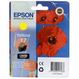 Картридж Epson Original T17044A10 Expression Home XP желтый