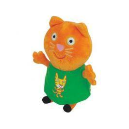 Мягкая игрушка кошка Peppa Pig Кенди с тигром 20 см оранжевый текстиль 29622