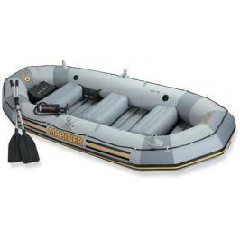 Надувная лодка INTEX моряк,весла,руч.насос 328х145х48см 320кг
