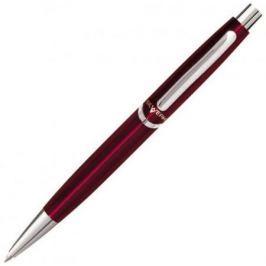 Ручка шариковая Silwerhof Welle корпус красный чернила синие + коробка 025038
