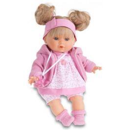 Кукла Munecas Antonio Juan Кристи в розовом 30 см плачущая 1337P