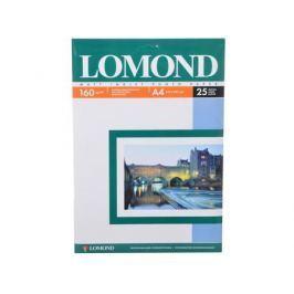 0102031 бумага LOMOND (A4, 160гр, 25л) Photo Матовая, 1стор.