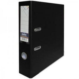 Папка-регистратор с покрытием PVC, 80 мм, А4, черная IND 8/50 PP BK
