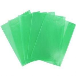 Набор обложек для тетрадей ф.А4, полипроп., апельс. корка, зеленая, 95 мкр., разм. 305х485 мм, 5 шт.