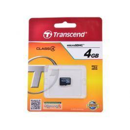MicroSDHC Transcend 4GB Class 4 (TS4GUSDC4)