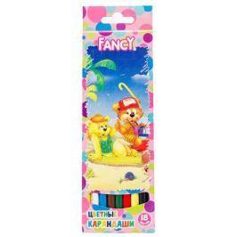 Набор цветных карандашей Action! Fancy 18 шт FCP103-18
