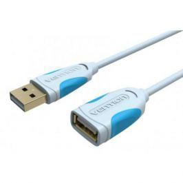 Кабель удлинительный USB 2.0 AM-AF 2.0м Vention VAS-A05-S200 серый