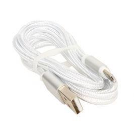 Кабель USB/micro USB Jet.A JA-DC21 1м белый (в оплётке, поддержка QC 3.0, пропускная способность 2A)