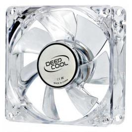 Вентилятор Deepcool XFAN 80L/R 80x80x25 3pin 20dB 1800rpm 60g красный LED