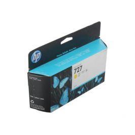 Картридж HP B3P21A №727 для Designjet T920/T1500. Жёлтый. 130-ml