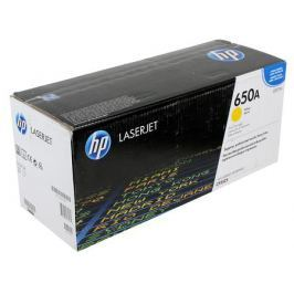 Картридж HP CE272A для LJ CP5520/5525. Жёлтый. 15 000 страниц.