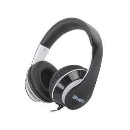 Гарнитура SVEN AP-940MV наушники: 18 – 20000,микрофон: 30 – 16000, 1,2м черно- белые