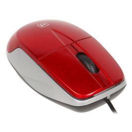 Проводная оптическая мышь DEFENDER MS-940 красный,3 кнопки,1200dpi