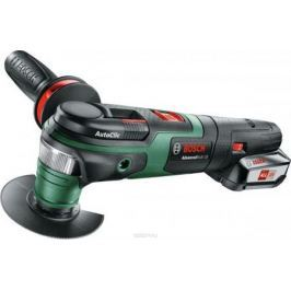 Многофункциональная шлифмашина Bosch AdvancedMulti 18 зеленый/черный