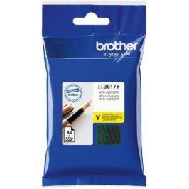 Картридж Brother LC3617Y для Brother MFC-J3530DW/J3930DW желтый 550стр