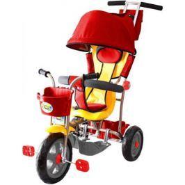 Велосипед трехколёсный Rich Toys Galaxy Лучик с капюшоном красный Л001