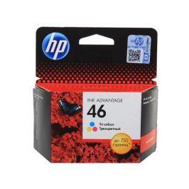 Картридж HP CZ638AE (№46) для 2020hc (CZ733A), 2520hc (CZ338A). Цветной. 750 страниц.