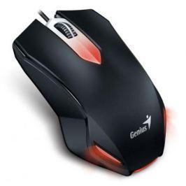 Мышь проводная Genius X-G200 чёрный USB