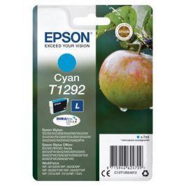 Картридж Epson C13T12924012 для Epson St SX420/425/525WD/B42WD/BX320FW/BX625WFD голубой