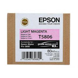 Картридж Epson C13T580600 для Epson Stylus Pro 3800 светлый пурпурный