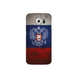 Чехол Deppa Art Case и защитная пленка для Samsung Galaxy S6, Патриот_Флаг,