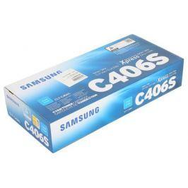 Картридж HP для Samsung CLT-C406S для CLP-360/365/CLX-3300/3305. Голубой. 1000 страниц.