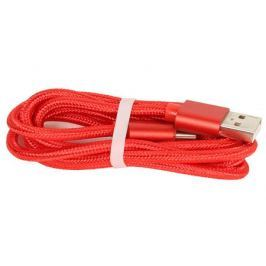 Кабель USB/USB Type C Jet.A JA-DC31 1м красный (в оплётке, поддержка QC 3.0, пропускная способность 2A)