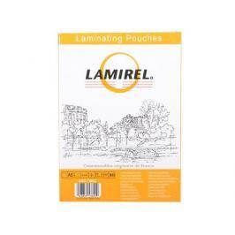 Плёнка для ламинирования Lamirel А5 (LA-7865701) 154х216 мм, 75 мкм, глянцевая,100 шт.