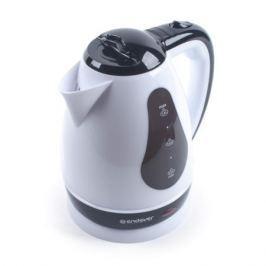 Чайник электрический Endever Skyline KR-352, белый-черный, мощность 2100 Вт, емкость 1,8 л, пластиковый корпус