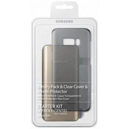 Чехол Samsung EB-WG95EBBRGRU для Samsung Galaxy S8 + защитное стекло черный
