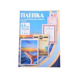 Плёнка для ламинирования Office Kit A3 (PLP10030) 303х426 мм, 75 мкм, глянцевая, 100 шт.