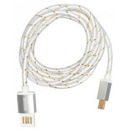 Кабель-переходник WIIIX CB110-UMU-15S USB-MicroUSB серебристый