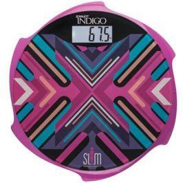 Весы напольные Scarlett IS-BS35E601 пурпурный рисунок