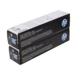 Картридж HP CE310AD (№126A) для цветных принтеров HP LaserJet Pro CP1025. Черный. 1200 страниц. Двойная упаковка.