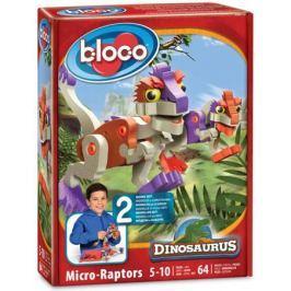Развивающий конструктор BLOCO Динозавр МикроРаптор 30112